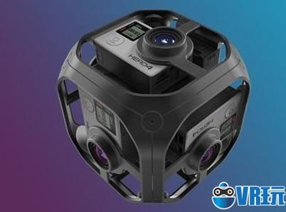 GoPro 360度VR摄像机开始接受预定