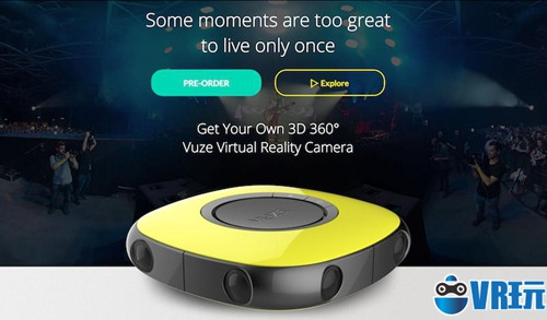 4K VR摄像机 Vuze会成为下一个 GoPro 吗?