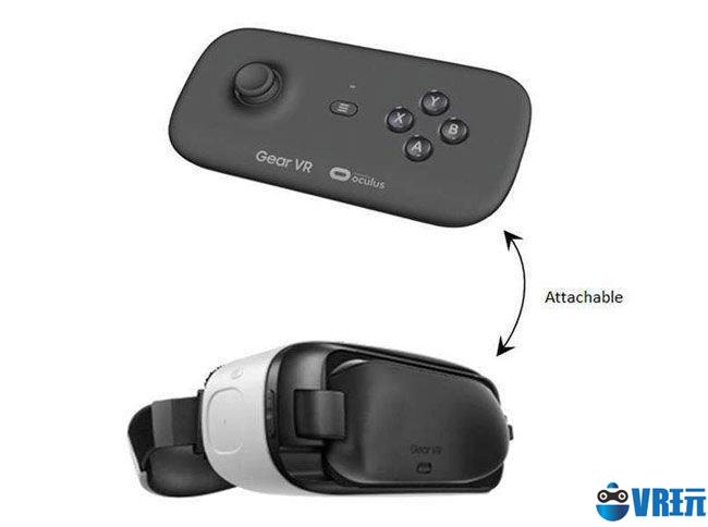 三星 Gear VR 游戏手柄大曝光,或兼容 Oculus Rift