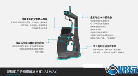 KAT VR推出针对商用端设计的跑步机KAT SPACE