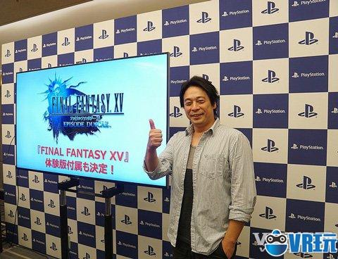 《最终幻想15》VR demo诺克斯不是男主