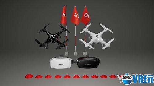 无人机飞行套装众筹 打造VR第一人称飞行游戏