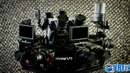 """可以在里面动的360度视频!HypeVR带来""""怪物级""""VR摄影机"""