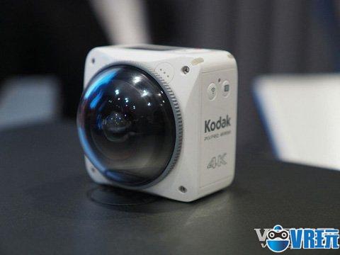 柯达发布新款360 4K VR相机预计明年上市