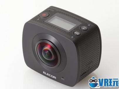 日本人推360度贴心相机,附自拍杆和防水壳哦