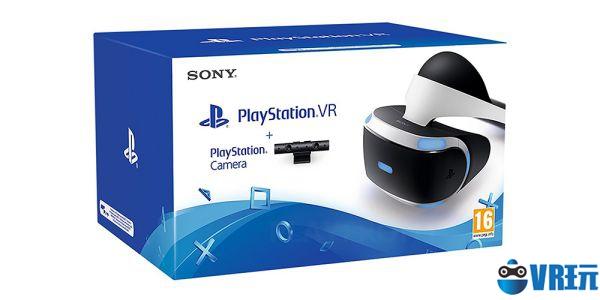 索尼推出PlayStationVR及相机同捆套装