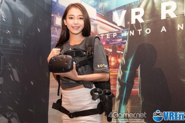索泰公司新型VR用背包式PC公开
