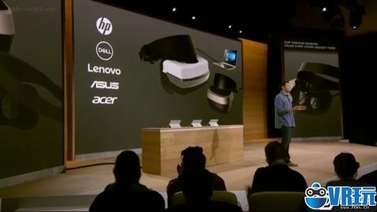 重磅!微软公布PC用VR头盔,售价2000元!