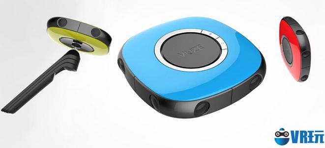 售价800美元 便携360度相机Vuze将于3月份开始发售