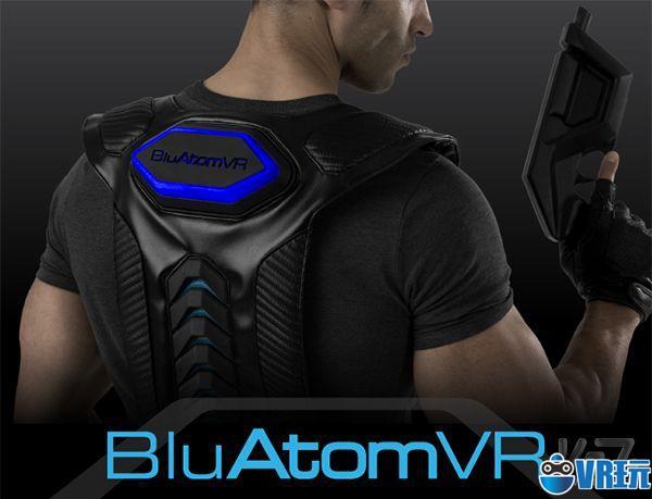 这款无线VR背心和枪形控制器让VR体验更真实自然