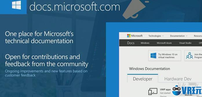 微软上线开发者文档汇总站 还能对文章贡献编辑