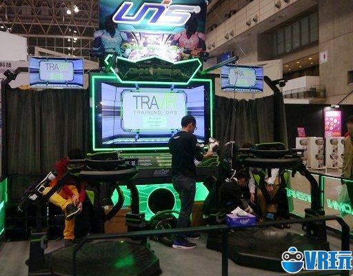大型VR设备UNIS VR Omni Arena现场体验有感!