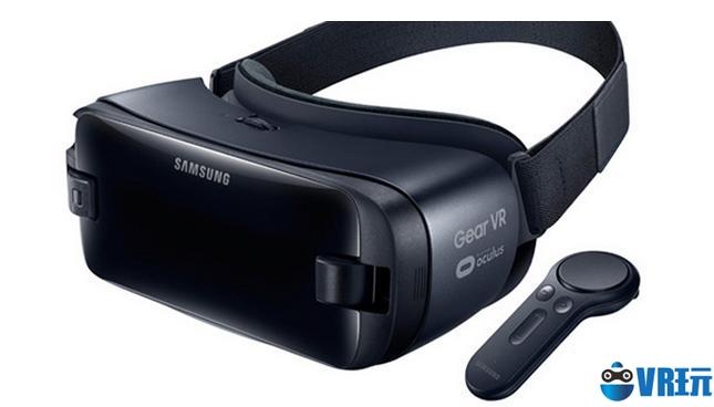 三星发布第三代消费版Gear VR,配控制器