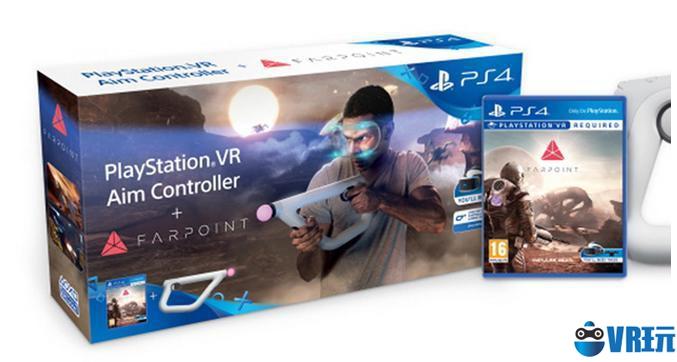 80美元,PS VR Aim Controller捆绑《Farpoint》销售