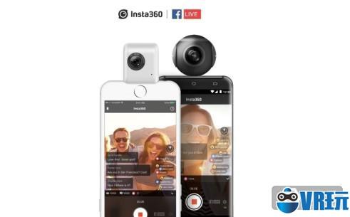 全景相机Insta360可直接在Facebook上进行直播