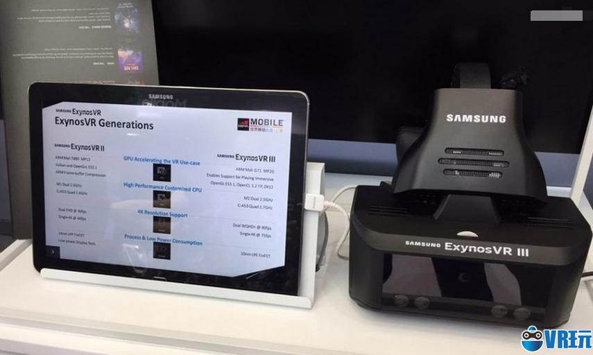 三星一体机Exynos VR将搭载新技术:眼动追踪、面部识别等
