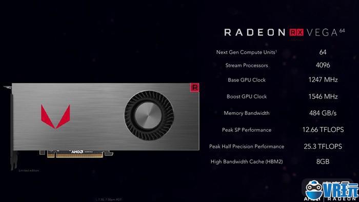 AMD新显卡Vega开卖!约2600元起售,支持VR百款作品4K 60帧