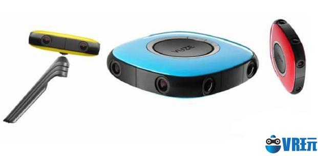 增强软件使用体验,Vuze发布升级版360度全景相机