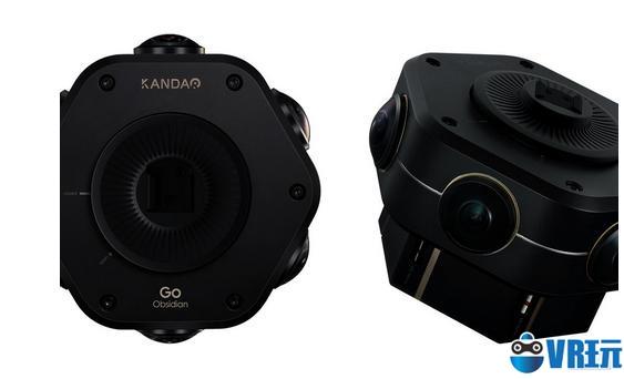 轻量专业VR相机Obsidian GO