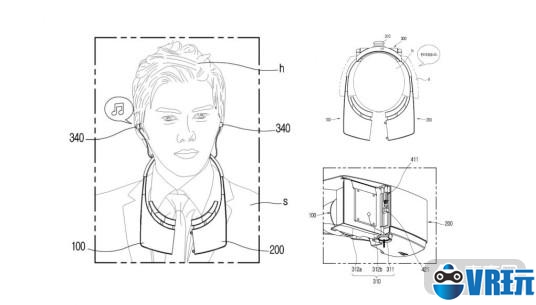 LG新款VR头显曝光,独特拆分设计可快速摘戴