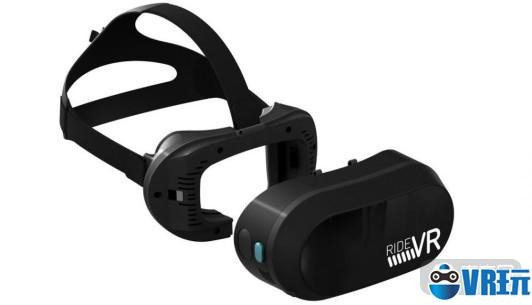 RideVR推专用于主题公园的VR头显,预计明年发货