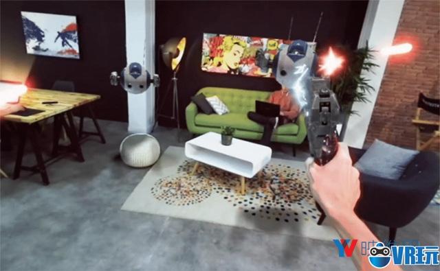 ZED Mini可将Rift/Vive变成AR头显