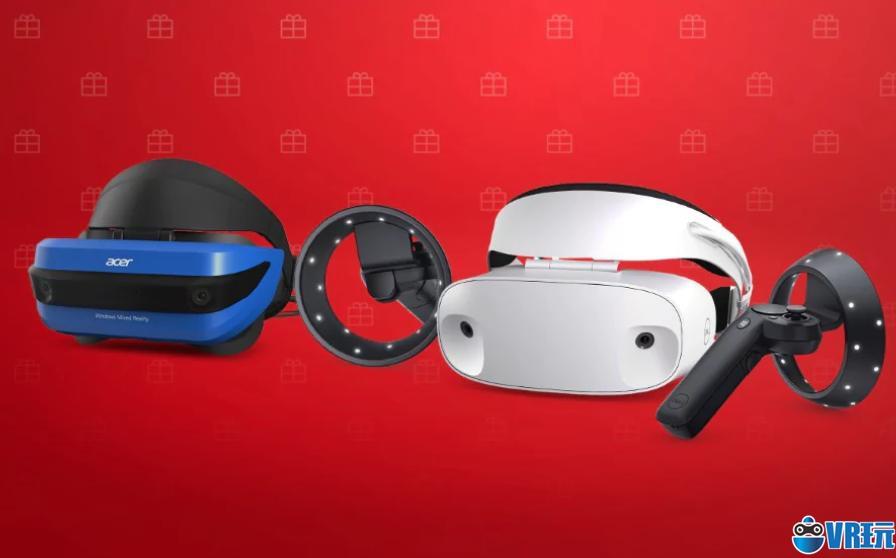美国微软商城大促,宏碁、联想MR带手柄只要199美元
