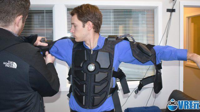 Hardlight VR触感背心降价,新版增加驱赶和手臂追踪