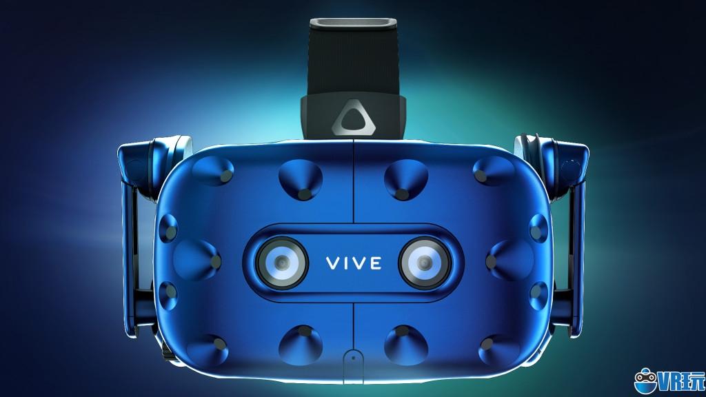 3K分辨率内置耳机,HTC发布升级版Vive Pro头显