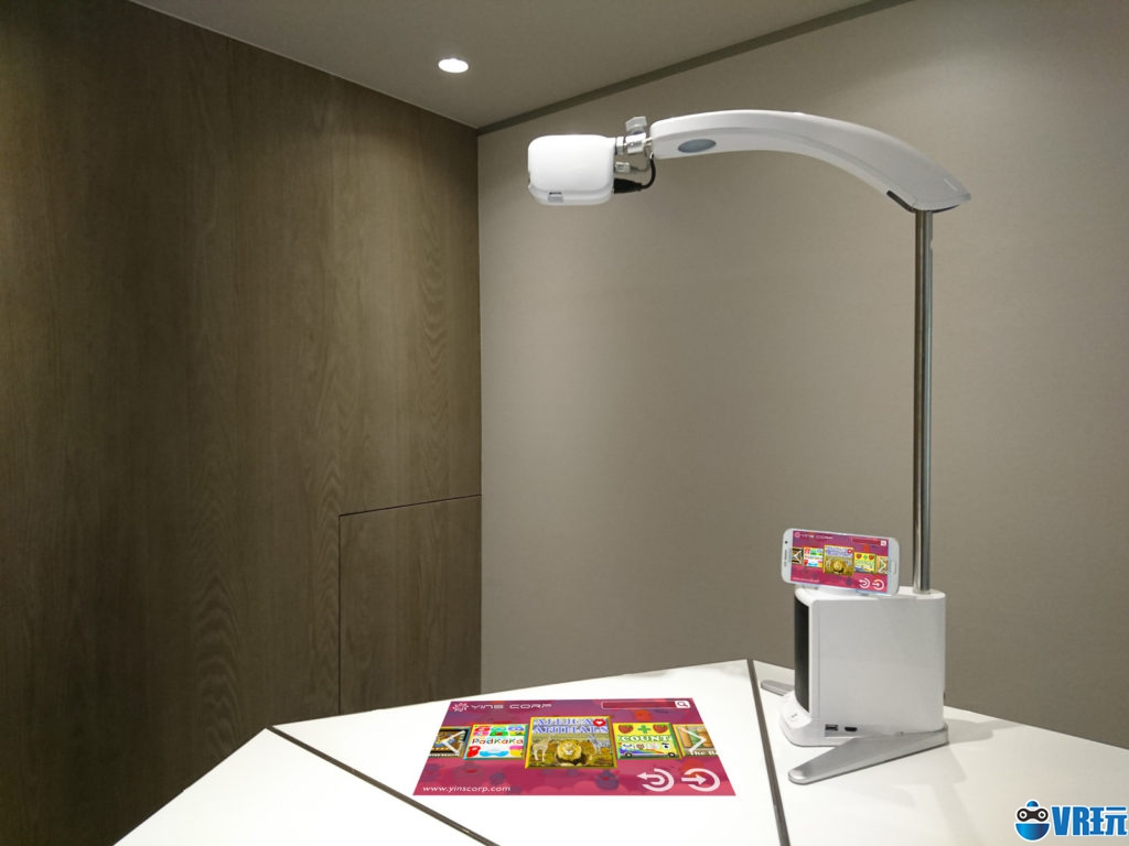 Yinscorp推出Count交互AR投影仪,手机内容可投至桌面