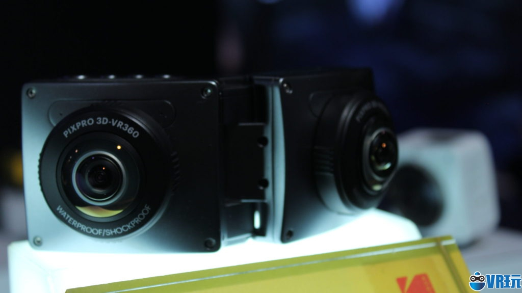 柯达展示8K全景相机和可折叠式3D全景相机