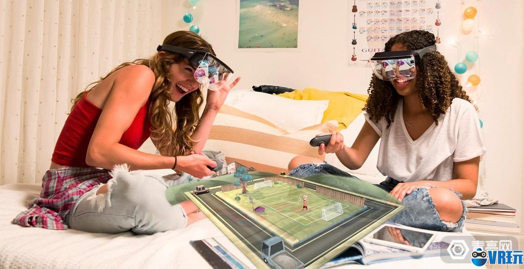 AR头显Mira Prism体验:预售只要99美元,效果出色