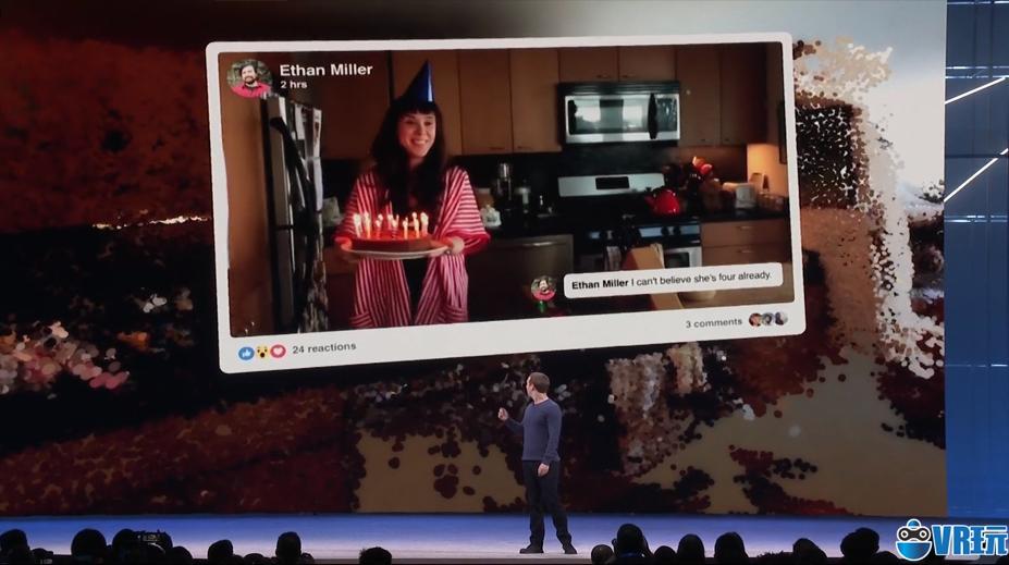 结合3D点云技术,Facebook让你通过VR回忆过去