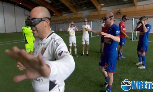 《Turbo Soccer VR》兼容HTC Vive追踪器让你成为足球巨星