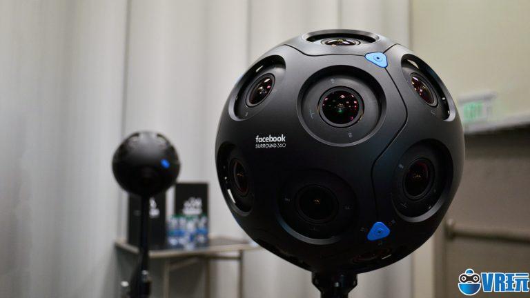 RED正在开发基于Facebook Surround360技术的VR相机