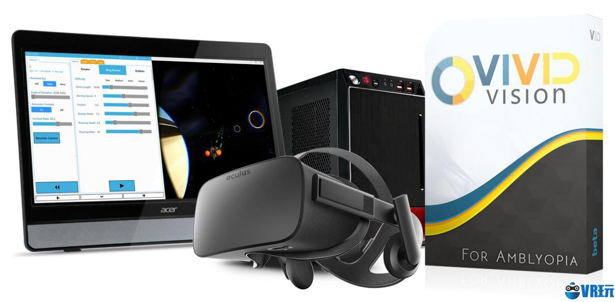 Vivid Vision整合VR眼球跟踪技术治疗眼部疾病