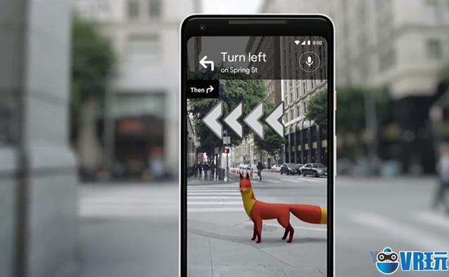 谷歌推出AR地图导航,无GPS预测定位和方向