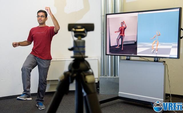马克斯普朗克开源项目VNect用2D摄像头实现低成本动捕