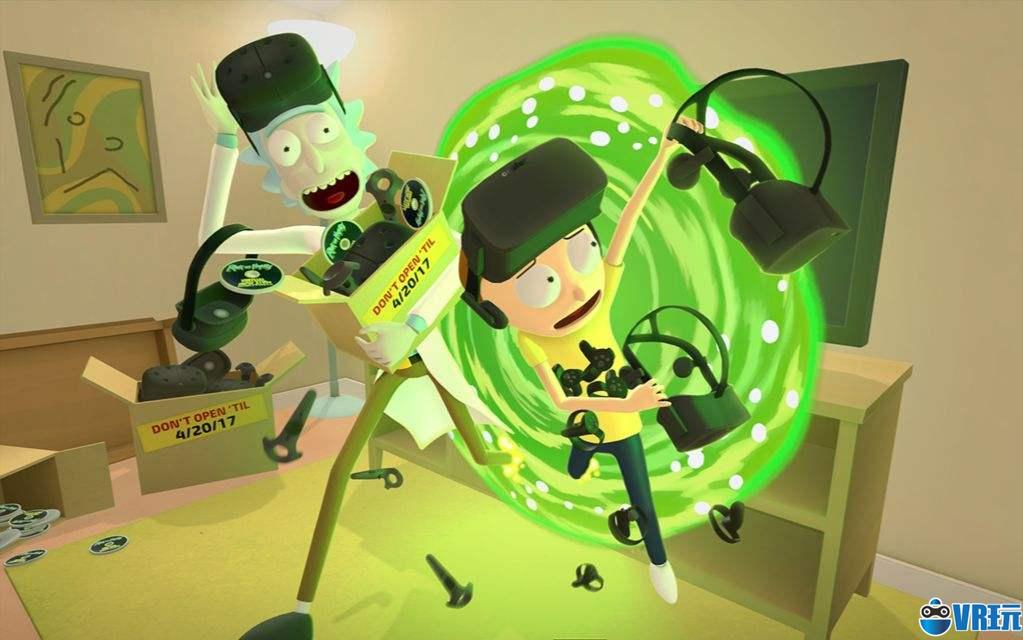 VR游戏《瑞克和莫蒂》销量大涨位居PSVR平台第一