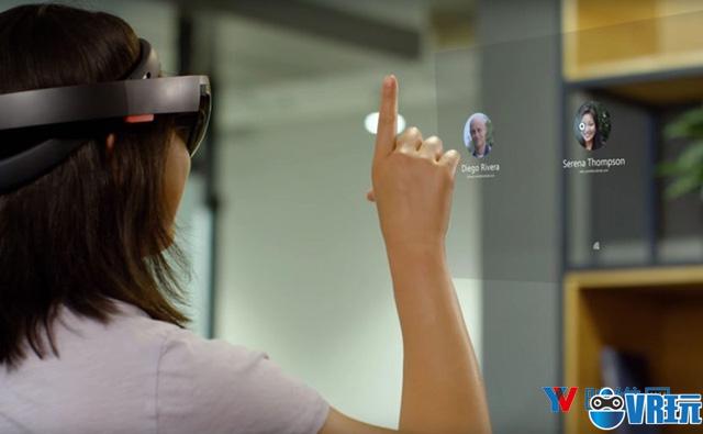 微软展示WMR和HoloLens新特性,增加多帐号、调查模式等