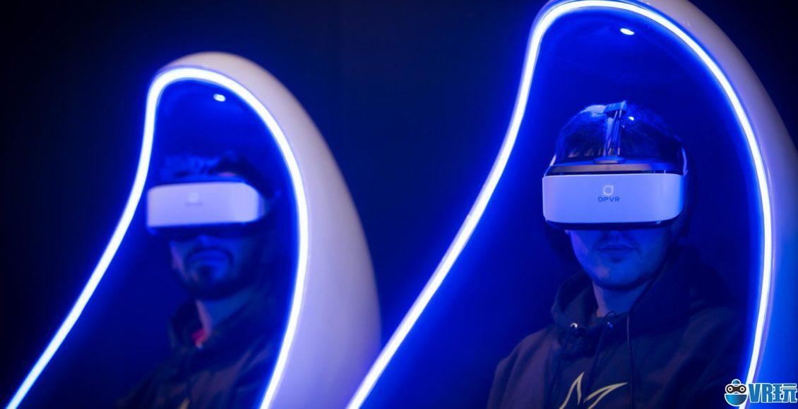 户外虚拟现实体验正在快速兴起