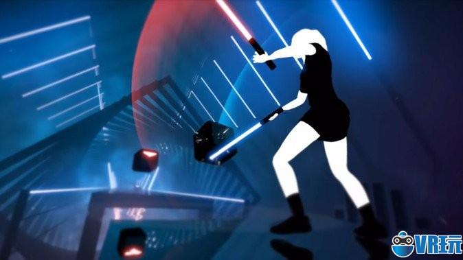 VR音游《节奏光剑》健身达人的新宠