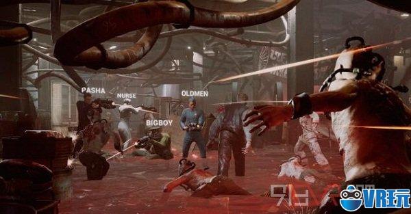 《Soviet Lunapark VR》与基友们一起在No3826挑战生存