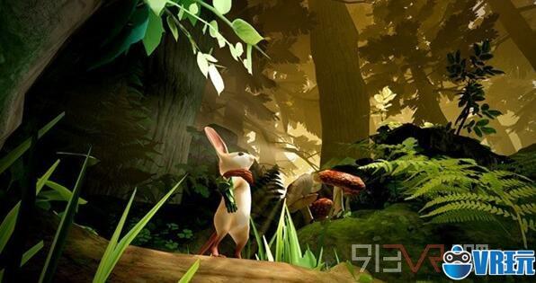 VR冒险游戏《Moss》正式登陆Oculus Rift