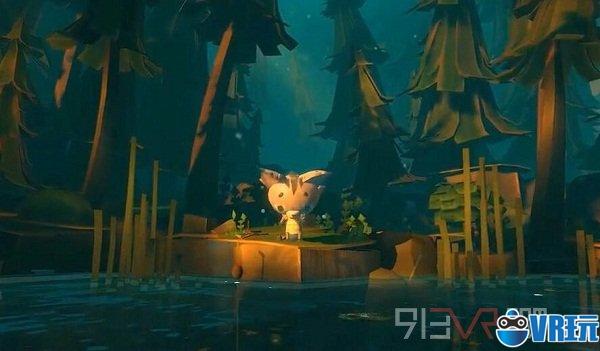 《幽灵巨人VR》是一款关于讲述友谊的游戏