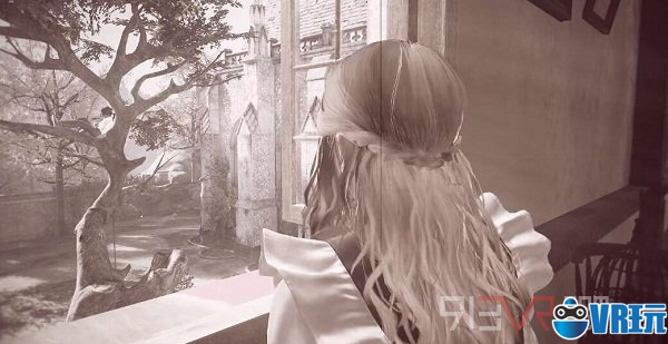 VR冒险游戏《失根》与少女们进行互动探索