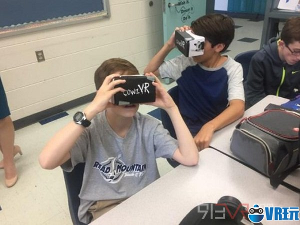46%的大学在校园中采用虚拟现实技术