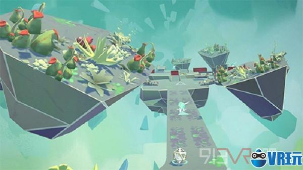 VR游戏《Arca's Path》基于注视来控制挪动