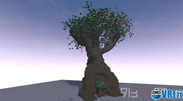 VR应用《SculptrVR》构建你的3D建筑美学