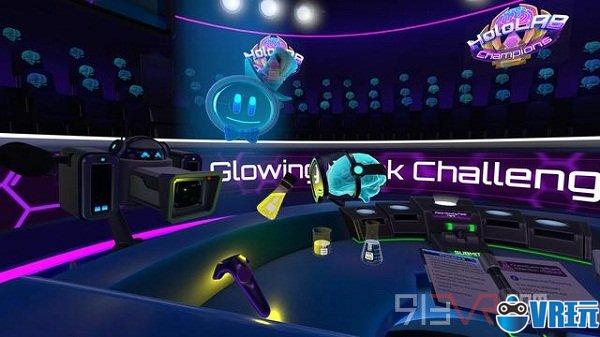 VR游戏《HoloLAB冠军》即将登陆Steam平台